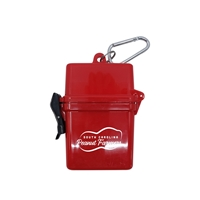 Promotional Water Resistant Adventurer First Aid Kit With Carabiner