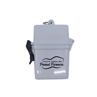 Branded Water Resistant Adventurer First Aid Kit With Carabiner